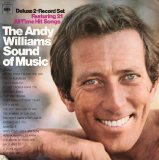 Andy Williams ‎- The Andy Williams Sound Of Music (LP) (VG-EX/G-VG)
